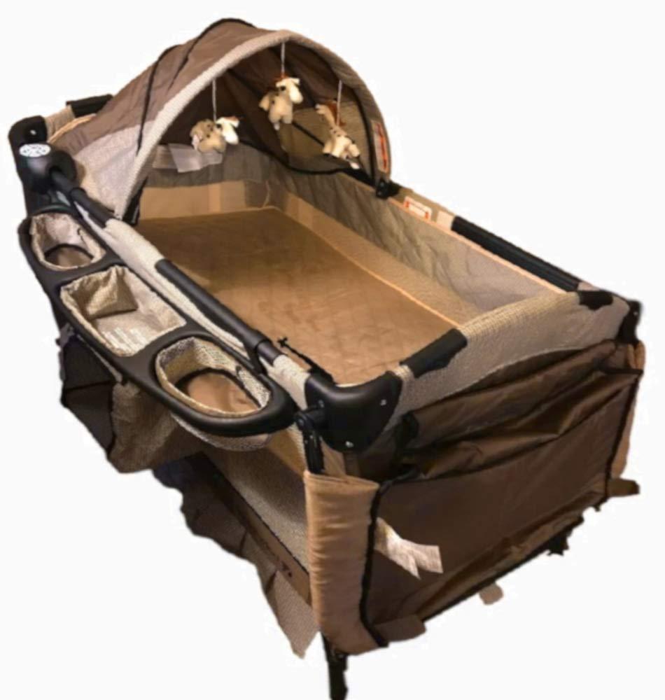 3IN1 Crib Mattress Adjustable Function Frame Baby Bumper Rail Newborn Legged Metal Boys Girls Removable Bassinet Wheels Portable & Ebook by AllTim3Shopping. STS SUPPLIES LTD