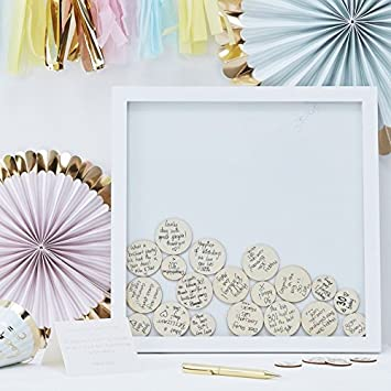 Amazoncom Wedding Guest Book Ideas Wedding Games Frame 55 Write