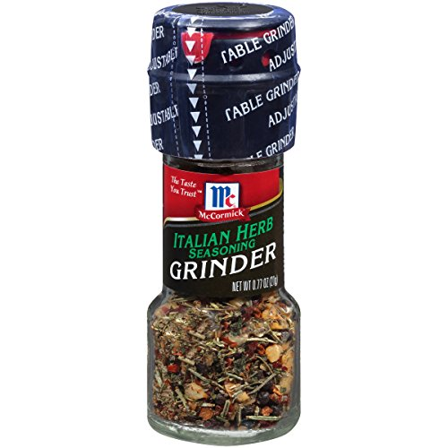 McCormick Italian Herb Seasoning Grinder, 0.77 oz (Pack of 6)