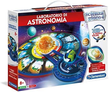 Clementoni 13994 Kit de experimentos Juguete y Kit de Ciencia para niños - Juguetes y Kits de Ciencia para niños (Astronomía, Kit de experimentos, 8 año(s), Niño/niña, Multicolor, Italia): Amazon.es: Juguetes y