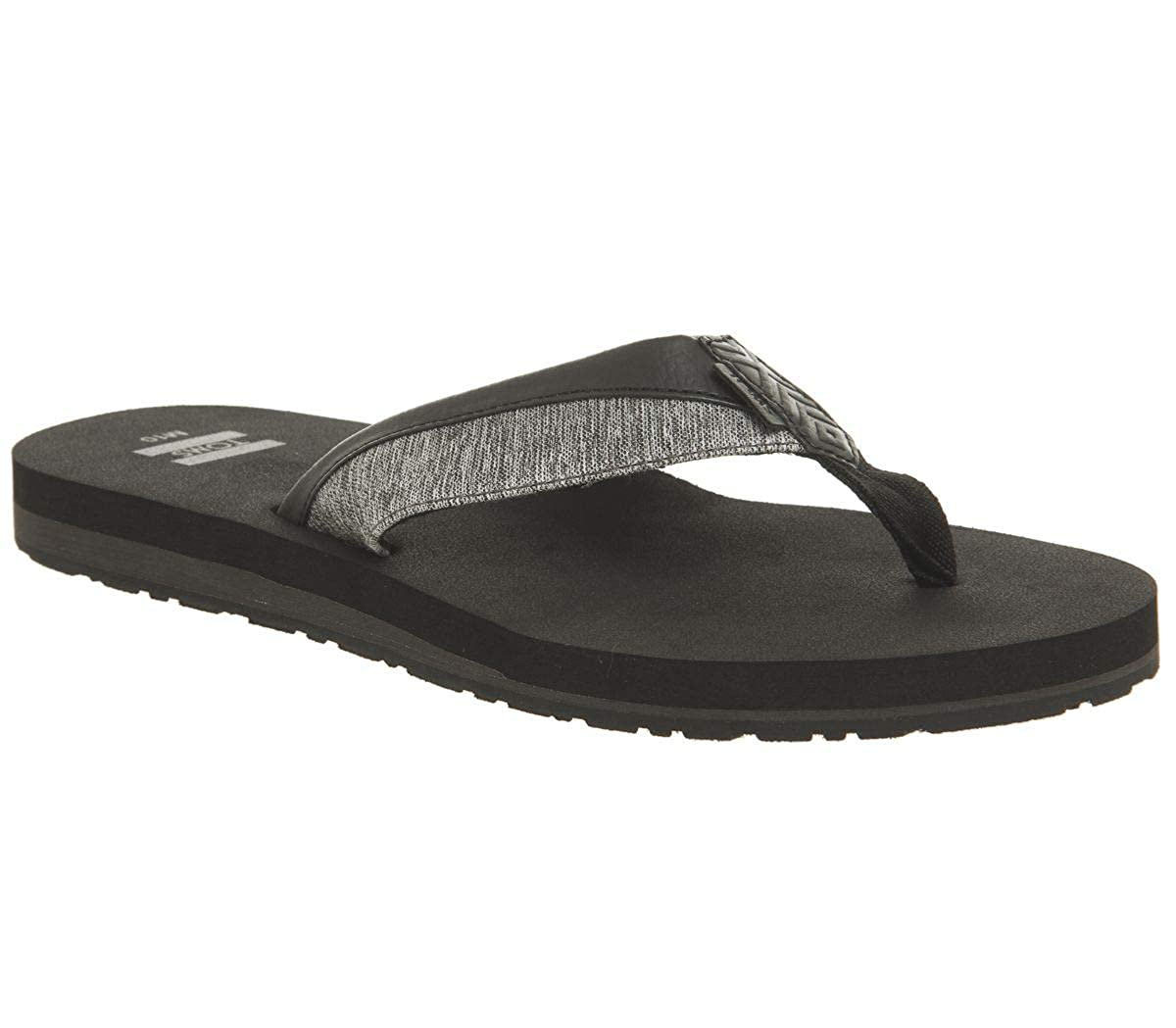 TALLA 46 EU. TOMS Men Santiago Forged Iron Grey, Zapatos de Playa y Piscina para Hombre