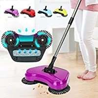 Sterling Steel Hand Push Sweepers Sweeping Machine Push Type Hand Push Magic Broom Sweepers Dustpan Household Cleaning Tools