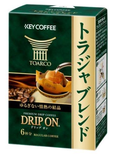 Key Coffee drip on Toraja blend 8gX6 pieces
