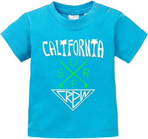 EZYshirt® California Surf Crew Baby T-Shirt