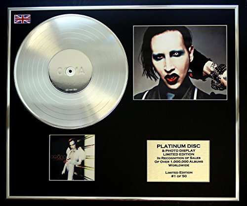 marilyn manson poster mechanical animals