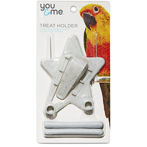 You&Me Small Cuttlebone/Millet Holder -