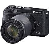 Canon EOS M6 Mark II Mirrorless Camera,(Black)+Ef-M 18-150mm F/3.5-6.3 is STM + Evf Kit