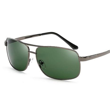 L.L.QYL Gafas Gafas de Sol para Hombre Gafas de Sol Retro ...