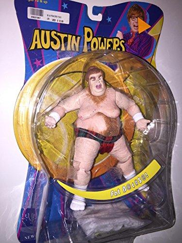 Austin Powers - Fat Bastard Action Figure - 2002 Mezco -