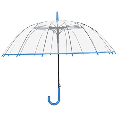 Paraguas Plegables Paraguas Transparente Mango Largo Paraguas Mujer Pequeño Estudiante Fresco Paraguas Doble Blanco Grande Retro