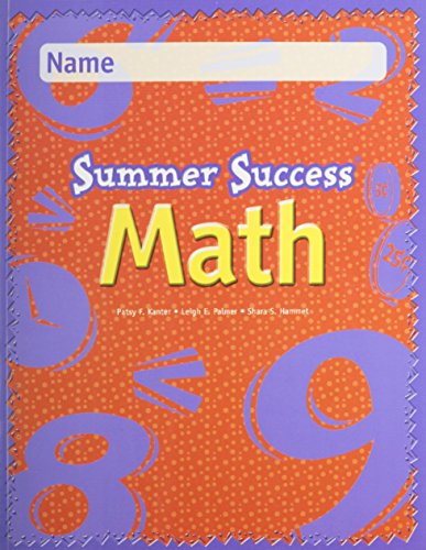 Great Source Summer Success Math: Student Edition  Grade 2 2000