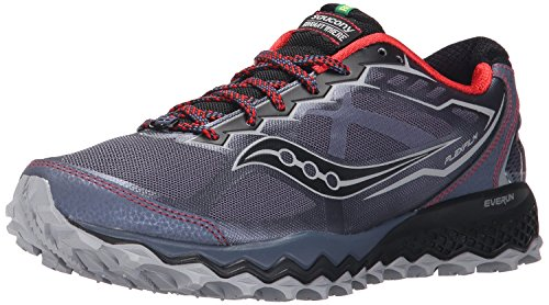 Saucony Mens Peregrine 6 Trail Running Shoe, Grau, 40.5 D(M) EU/6.5 D(M) UK