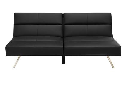 Ashbury Mid-Century Modern Futon Sofa Bed - Sleeper Sofa – Edloe ...