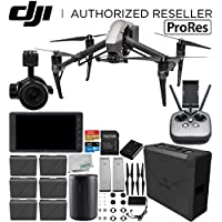 DJI Inspire 2 Quadcopter with Apple ProRes License with Zenmuse X5S and CrystalSky 5.5' High-Brightness Monitor and 2x CINESSD (240GB) Bundle