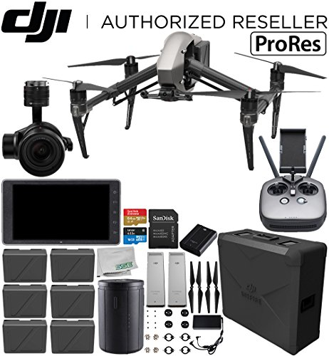 DJI Inspire 2 Quadcopter with Apple ProRes License with Zenmuse X5S and CrystalSky 5.5