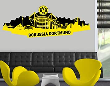 Wtd Mantiburi Wandtattoo Borussia Dortmund Skyline