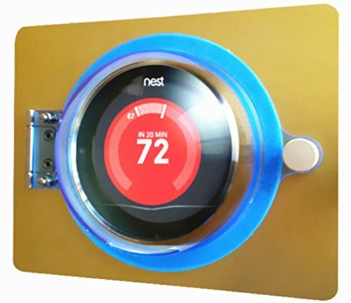 thermostat guard for nest thermostat 2nd and 3rd. Black Bedroom Furniture Sets. Home Design Ideas