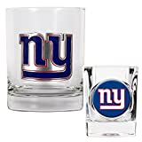 NFL Rocks Glass and Shot Glass Set Primary Logo