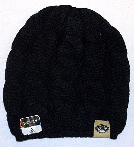 adidas Missouri Tigers Womens Braided Knit Hat