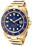 Rolex Men's Submariner Automatic Blue Dial Oyster 18k Solid Gold (Small Image)