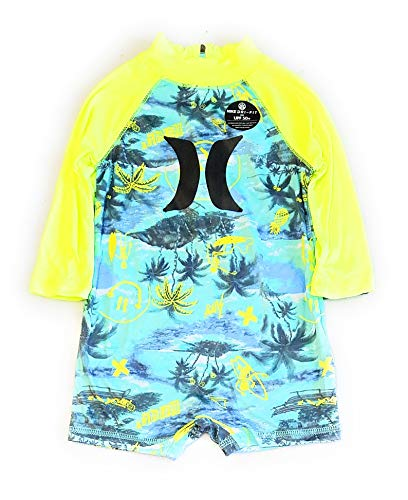 Hurley Baby One Piece Swimsuit, Tropical Twist icon, 6/9M