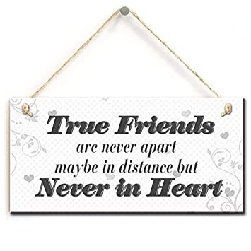 Amazoncom Long Distance Friendship Quotes True Friends Are Never