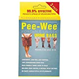 Cleanwaste Pee-Wee Urine Bags, 24-Count, 3-Packs