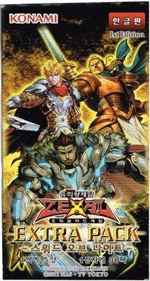 Suedkorea-Version des Yu-Gi-Oh Extra-Pack -  Sword Of Ritter BOX B00FQCST3M Packs & Sets Viele Sorten | Ruf zuerst