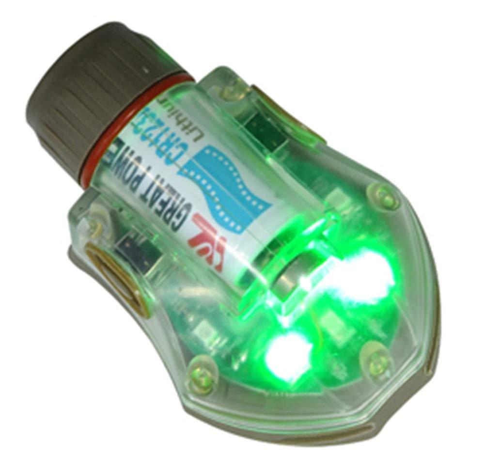 FMA Airsoft Light Flashlight IR Green Helmet Manta Strobe TAN Sand DE @ Helmet World
