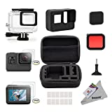 Deyard 25 in 1 GoPro Hero 5 Accessory Kit with Shockproof Small Case Bundle for GoPro Hero 5 Action Camera