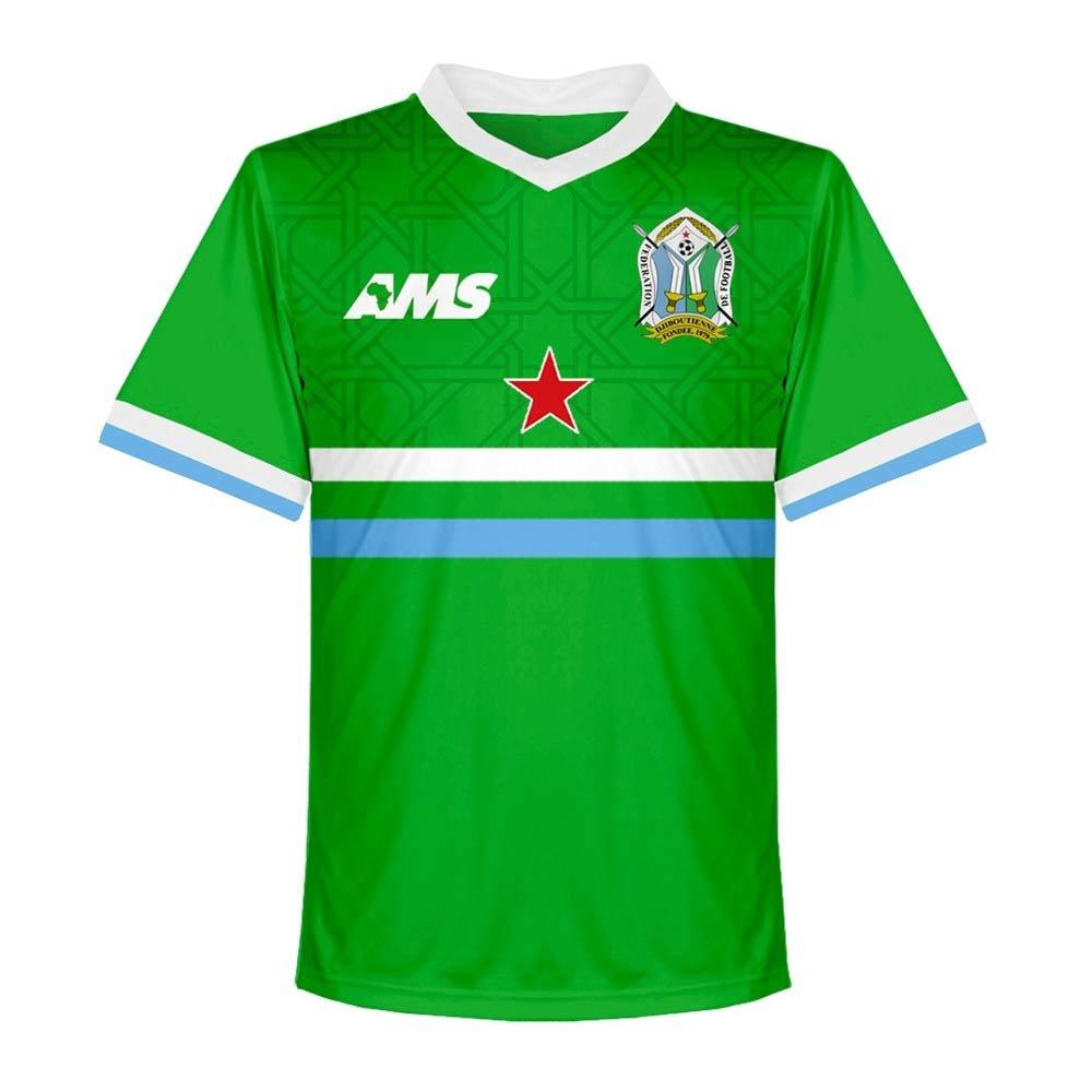 2017-2018 Djibouti Away Football Soccer T-Shirt Trikot
