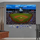 MLB Kansas City Royals Night Game At Kauffman Stadium Fathead Real Big Decals, One Size, Multicolor