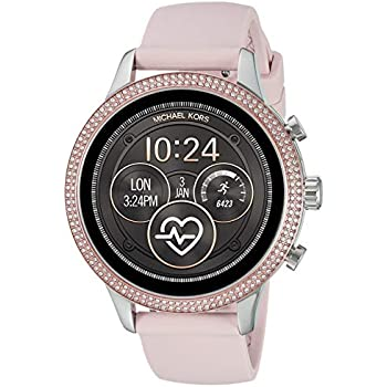 Amazon.com: Michael Kors Access MKGO Touchscreen Aluminum ...