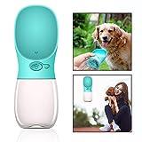 OFKPO Pet Drinking Water Bottle,Leakproof Portable Dog Travel Drink Bottle for Outdoor Travel (350ml)