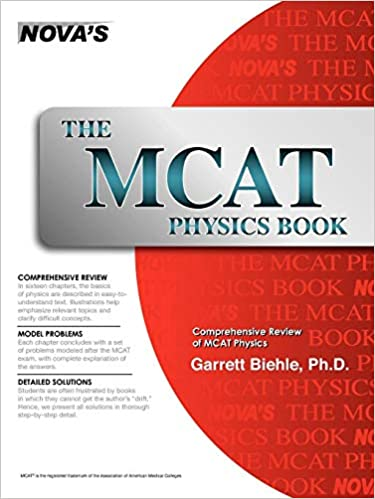 The MCAT Physics Book: Garrett Biehle: 9781889057330: Amazon