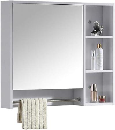 Armadio A Muro Con Specchio.Bathroom Mirror Mobile Bagno Con Specchio Armadio A Muro In Legno