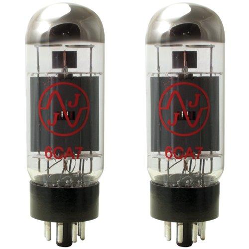 JJ Electronics T-6CA7-JJ-MP Vacuum Tube Pentode Matched Pair by JJ Electronic