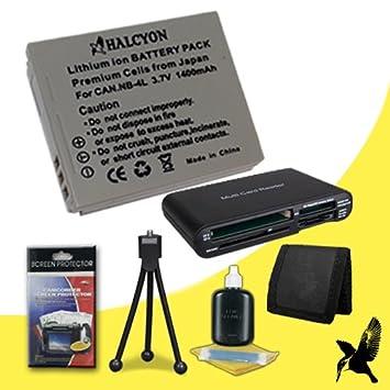 Amazon.com: Halcyon - Batería de iones de litio para Canon ...