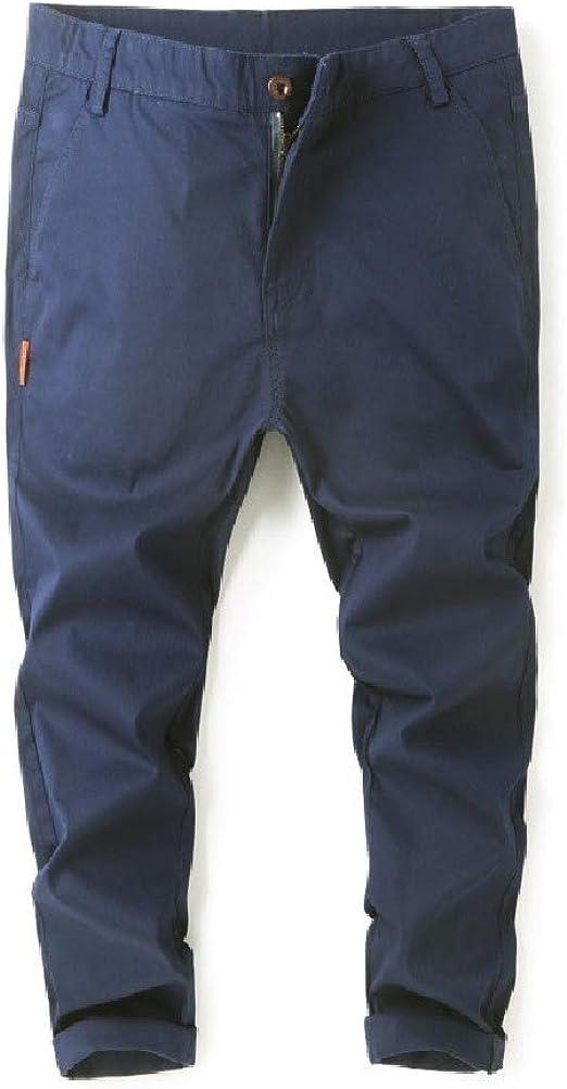 Romancly メンズ オーバーサイズ ルーズ ソリッド カラー ファッション リラックス フィット スウェットパンツ