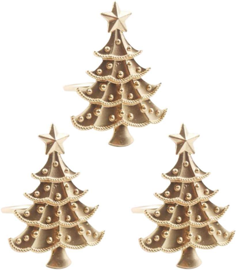 per matrimoni UPKOCH feste con fibbia festival tovaglioli e tovaglioli di carta 25 portatovaglioli natalizi a forma di fiocco di neve per tovaglioli