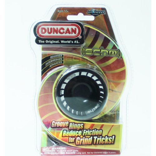 Duncan Echo 2 Yo-Yo - Aluminum - NEW! Black by Duncan