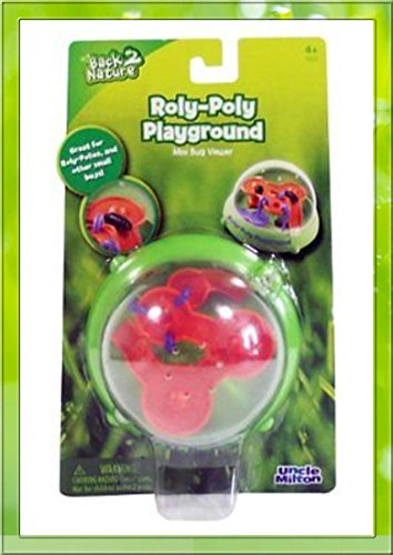 Isopods with Bug Habitat (Uncle Milton's Roly Poly Playground) (Farm Poly)