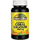 Nature's Blend Okinawa Coral Calcium 1,000 mg 60 Caps