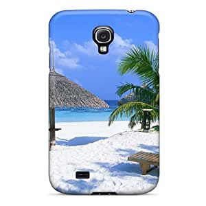 New Maldives Travel Tourist Attractions Tpu Case Cover, Anti-scratch RlORX12526KSCsM Phone Case For Galaxy S4