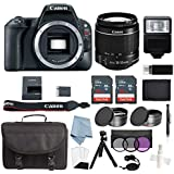 Canon EOS Rebel SL2 Bundle With EF-S 18-55mm f/4-5.6 IS STM Lens + Advanced Accessory Kit - Includes EVERYTHING You Need To Get Started