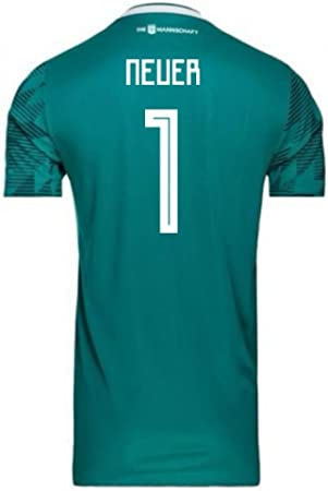 Más lejano Flexible Agencia de viajes  2018-2019 Germany Away Adidas Football Soccer T-Shirt Camiseta (Manuel  Neuer 1): Amazon.es: Deportes y aire libre