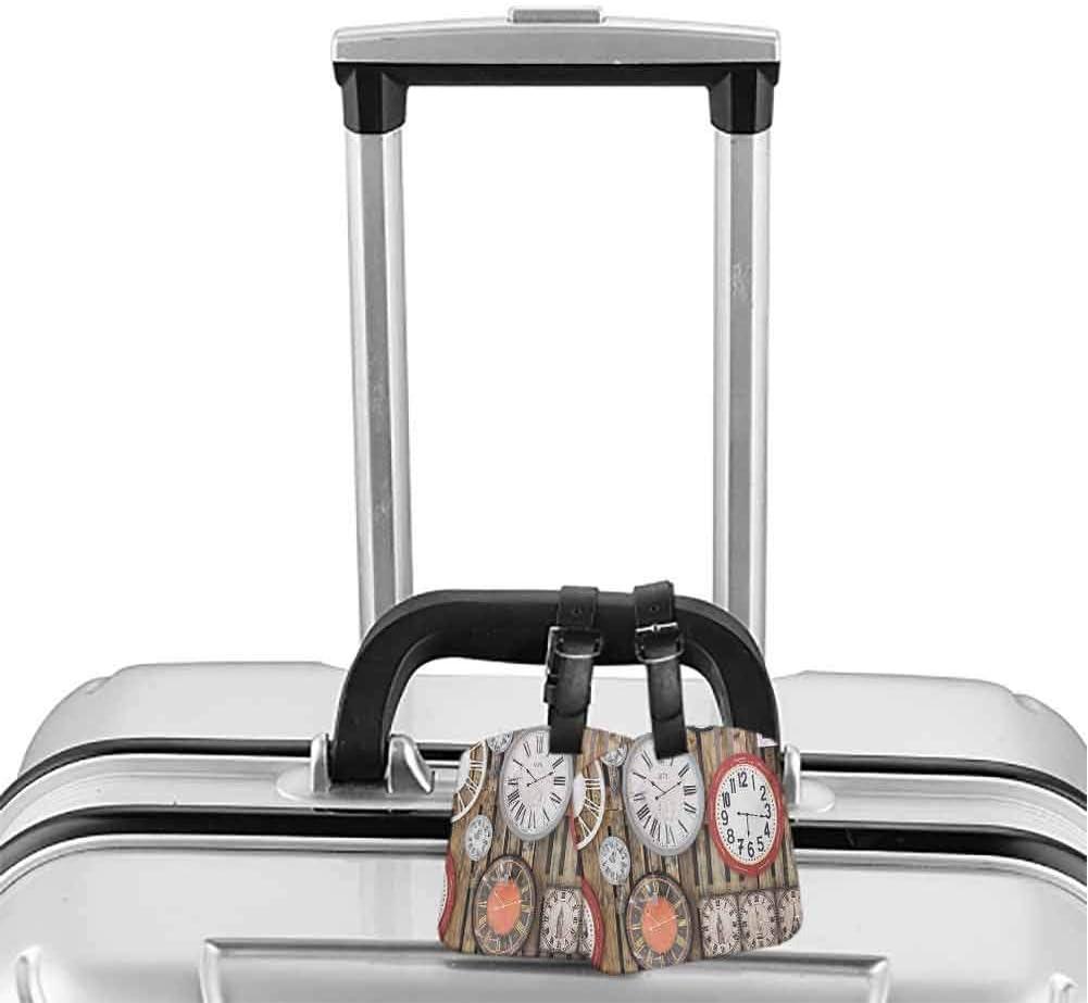 ADGAI Side of The Dog Canvas Travel Weekender Bag,Fashion Custom Lightweight Large Capacity Portable Luggage Bag,Suitcase Trolley Bag