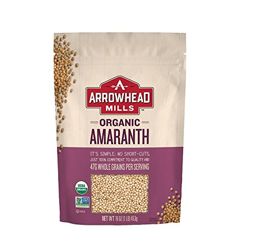 Arrowhead Mills Organic Whole Grain Amaranth, 16 Ounce