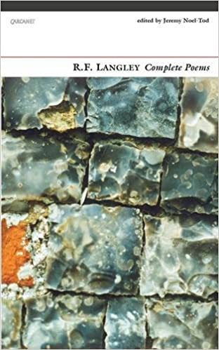 Book R. F. Langley Complete Poems by Jeremy Noel-Tod (2015-09-24)