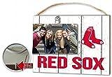 "KH Sports Fan x8"" Boston Red Sox Clip It Weathered Logo Photo Frame, 10"" x 8"""